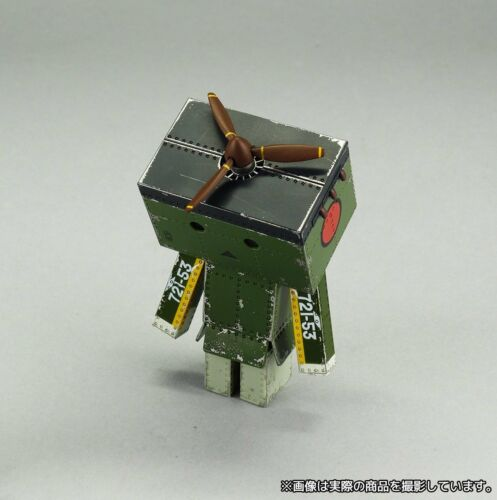 Kaiyodo Revoltech Danbo Mini Danboard Zero Fighter type 52 Version Figure Japan