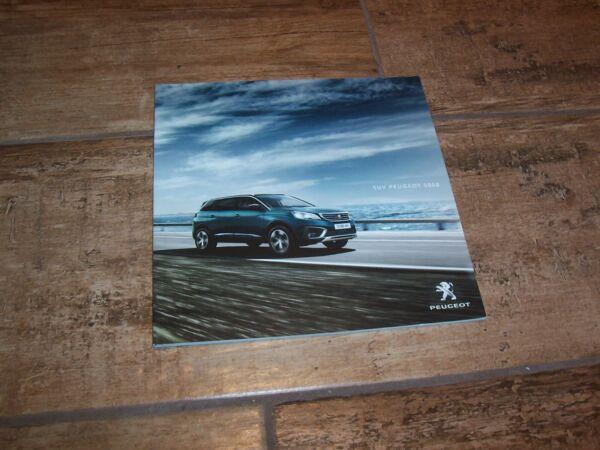 Beducht Catalogue / Brochure Peugeot 5008 2018 // Hoge Kwaliteit En Goedkoop
