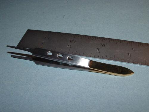 Dr Slick Bishop Tweezers 4 inch Straight Fly Tying Tool FB4G Tweezer