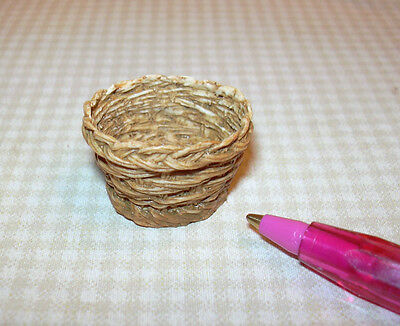 Pat Tyler Dollhouse Miniature Wicker Basket Container 1:12 Home Décor p133