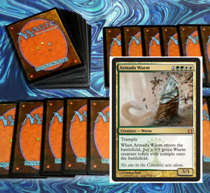 mtg-GREEN-WHITE-SELESNYA-RAMP-PIONEER-DECK-Magic-the-Gathering-rares-shalai