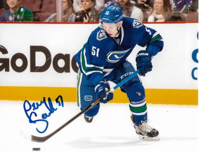 Vancouver Canucks Troy Stecher Signed Autographed 8x10 NHL Photo COA Q