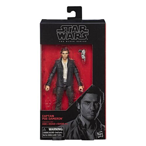 """Star Wars Black Series 6/"""" The Last Jedi CAPTAIN POE DAMERON WAVE 13 NEW IN STOCK"""