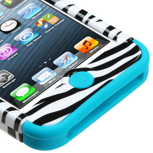 Screen Protector iPod Touch 6 6th Gen Rubber IMPACT TUFF HYBRID Skin Case Cover