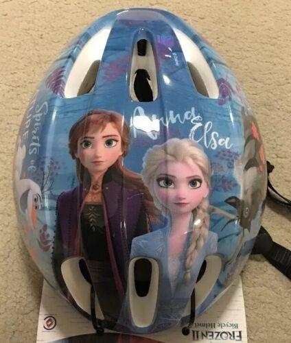 New Frozen Elsa Anna Olaf Sven Bike Skate Scooter Helmet kids size 54-58cm