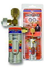 Nitrogen Flow Indicator Meter Regulator Gas Tool Pressure Control HVAC Testing