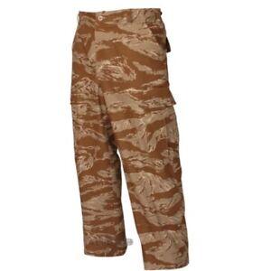 Tru-Spec-BDU-Pants-100-Rip-Stop-Cotton-Desert-Tiger-Stripe-Pants-Bottoms-SZ-sm