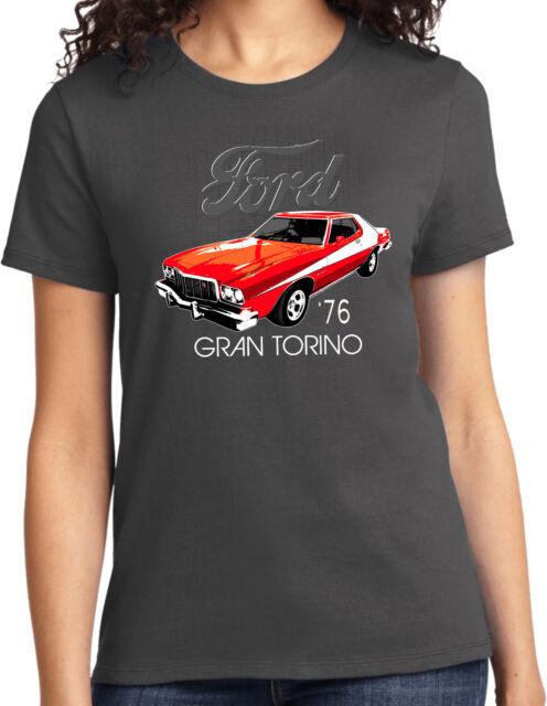 Starsky /& Hutch Ford Gran Torino T-shirt Vest Tank Top Men Women Unisex 2156