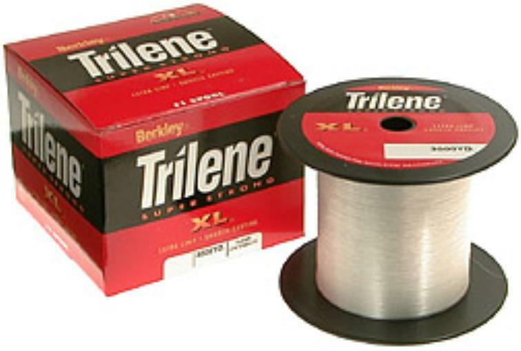 Berkley XL308-15 8 Lb Trilene XL Clear Monofilament Line 3000 Yd Spool 10638