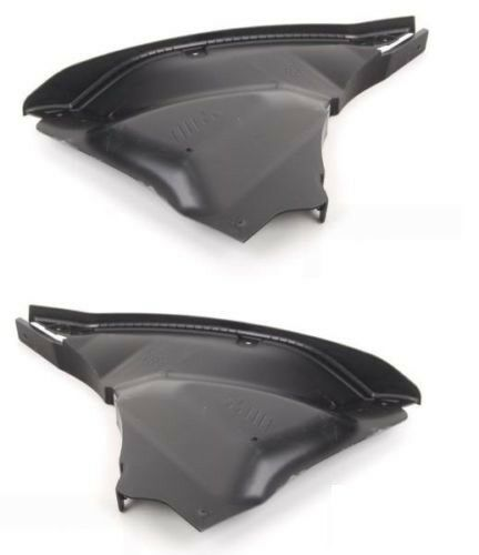 BMW New Genuine M3 M4 F80 F82 F83 Front Bumper Belly Pan Extension Pair Set