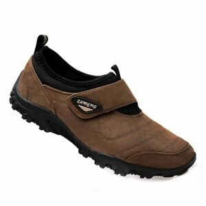 Mens-Outdoor-Sports-Hiking-Shoes-Casual-Walking-Sneakers-Fashion-Slip-On-Loafers