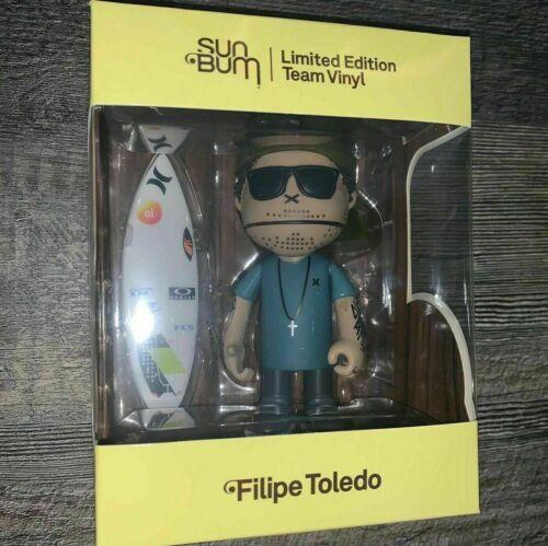 5 in environ 12.70 cm Vinyl Figure Jouet-Neuf Filipe Toledo Sun Bum édition limitée équipe Vinyl