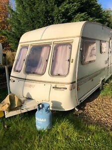 For Sale Swift Challenger Caravan 4 berth and Large Porch ...