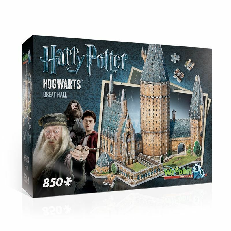 Harry Potter 3D Hogwarts Castle Great Hall Wrebbit Jigsaw Puzzle Model Kit