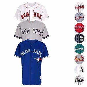 MLB-Official-MAJESTIC-Authentic-On-Field-Home-Road-Alt-Men-039-s-Jersey-Collection