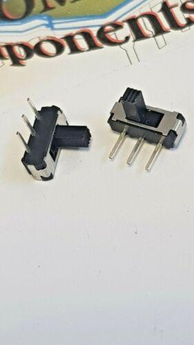Miniature Interrupteur à glissière 4.4 mm ACT 6 V stk:14012B Packs de 2 par commande