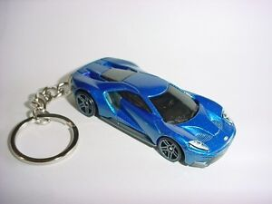 Image Is Loading New D Blue  Ford Gt Custom Keychain