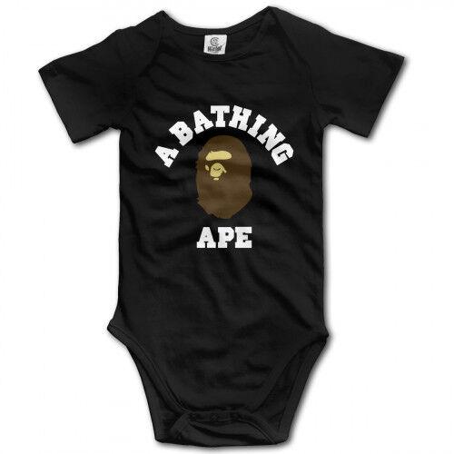 A Bathing Ape infant Baby Boy Clothes One PIECE Bodysuit Romper Jumpsuit