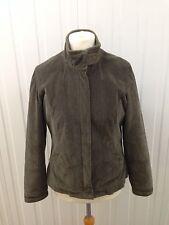 Womens Per Una Corduroy Quilted Jacket - Medium Uk14 - Good Condition