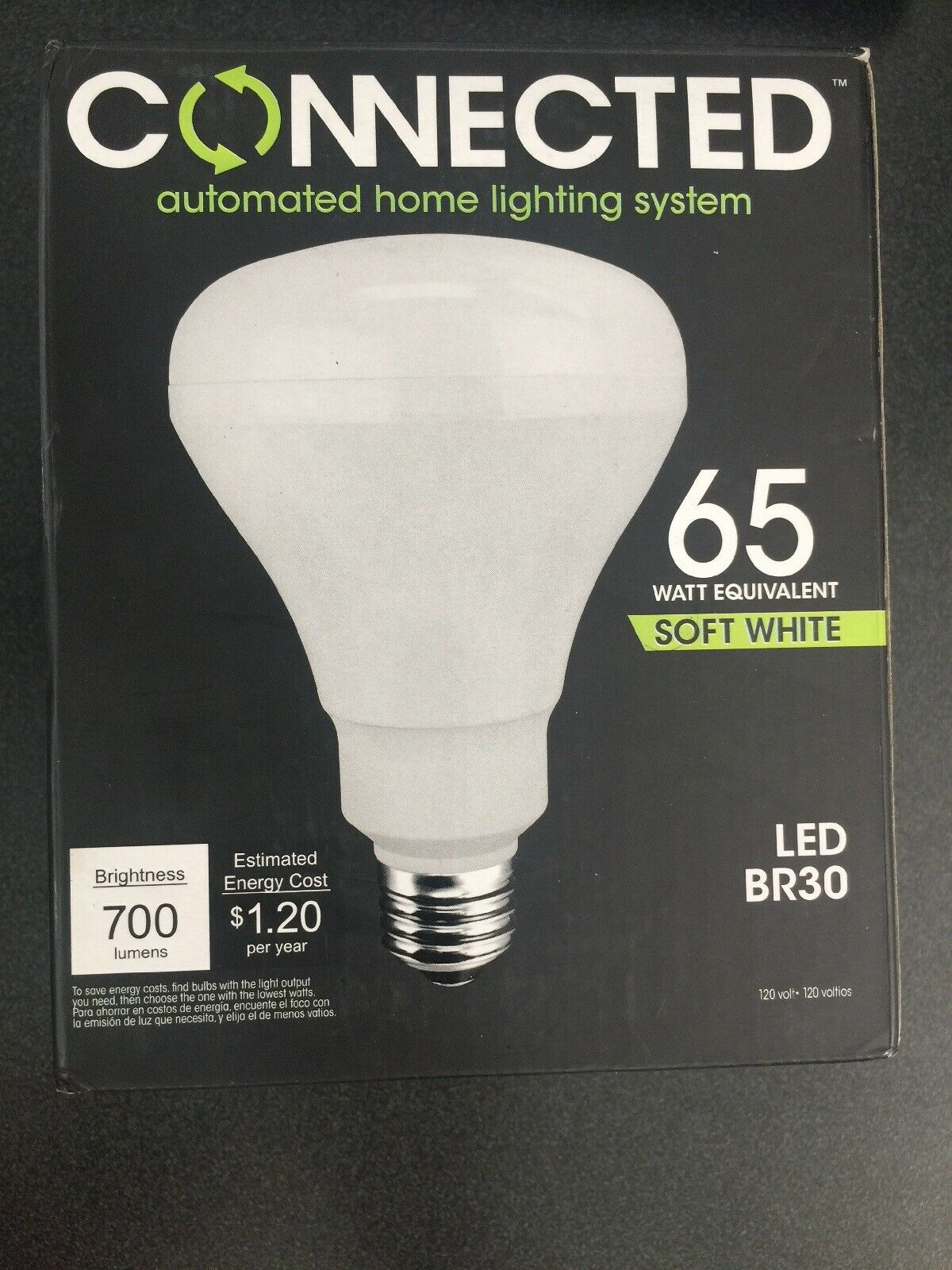 5000 TCP Connected LED 60W 65W Equivalent Soft White 2700K Daylight A19 BR30