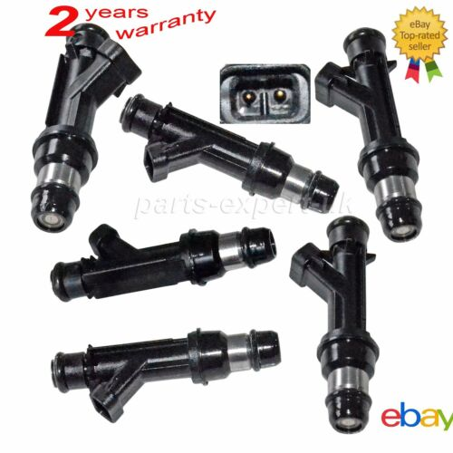 New 6 Flow Matched Fuel Injector Set For Buick Chevy 3.1 3.4 25323971 25323972
