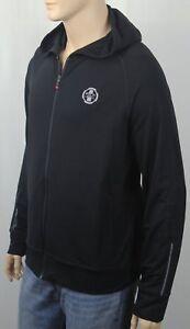 Polo Ralph Lauren Sport Black Full Zip Athletic Hoodie NWT