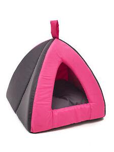 d me tipi pour chien chat niche tente lit corbeille rose. Black Bedroom Furniture Sets. Home Design Ideas