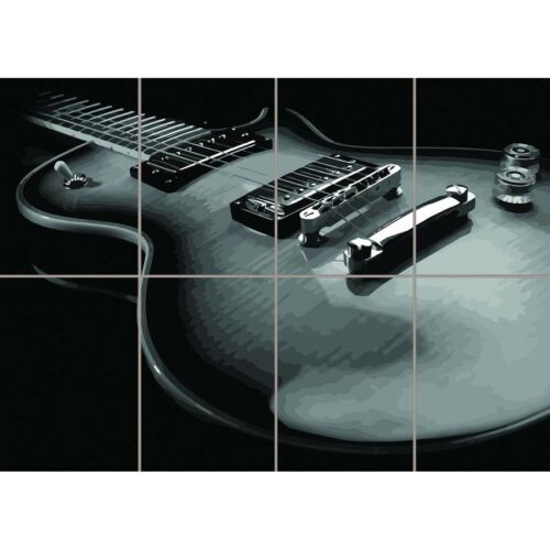 Gibson Les Paul Guitar New Giant Wall Mural Art Poster Print 47x33 Inches