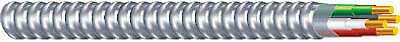 25-Ft. Flexible Conduit 12//2 THHN Aluminum Metal Clad