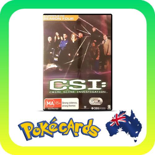 1 of 1 - CSI: Crime Scene Investigation : Series 4 (DVD, 2006, 6-Disc Set) - FREE POSTAGE