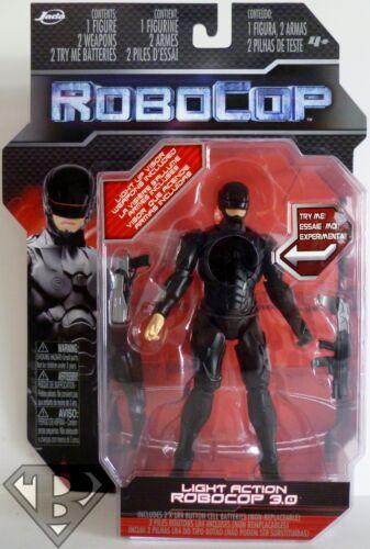 """ROBOCOP 3.0 Robocop 2014 Movie 6/"""" inch Light-Up Action Figure Jada Toys 2013"""