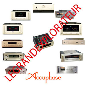 Details about Ultimate Accuphase Operation Repair & Service manual  schematics 340 on DVD
