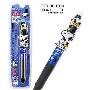 3 colors Erasable Ballpoint Pen Snoopy Frixion Ball 3