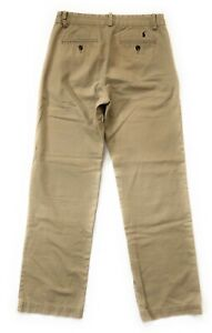 Polo-Ralph-Lauren-Khaki-Pants-Boys-Size-16-Chinos-Flat-Front