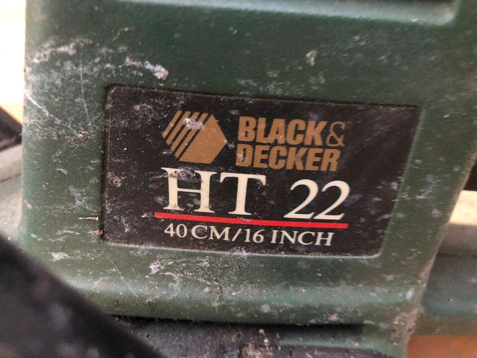 Hækklipper, Black Decker