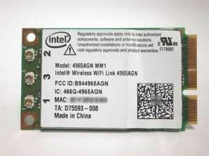 INTEL WIRELESS WIFI LINK ADAPTERS TELECHARGER PILOTE
