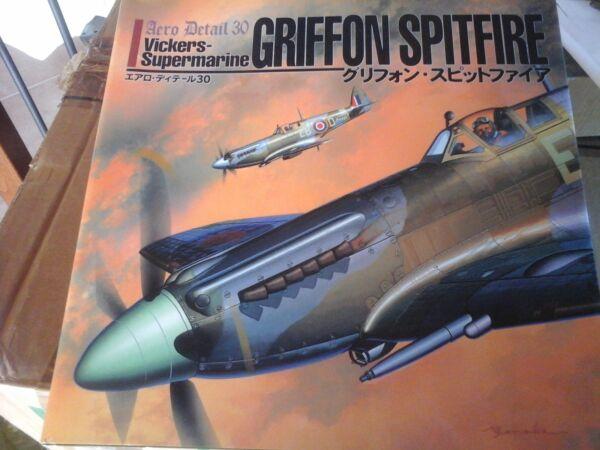 Aero Detail N.30 Vikers-supermarine Griffon Spitfire-by Shigeru Nohara-burindojp
