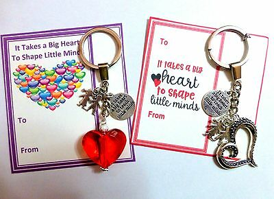 It takes a BIG Heart to Teach Little Minds Thank you Gift for Teacher End Term