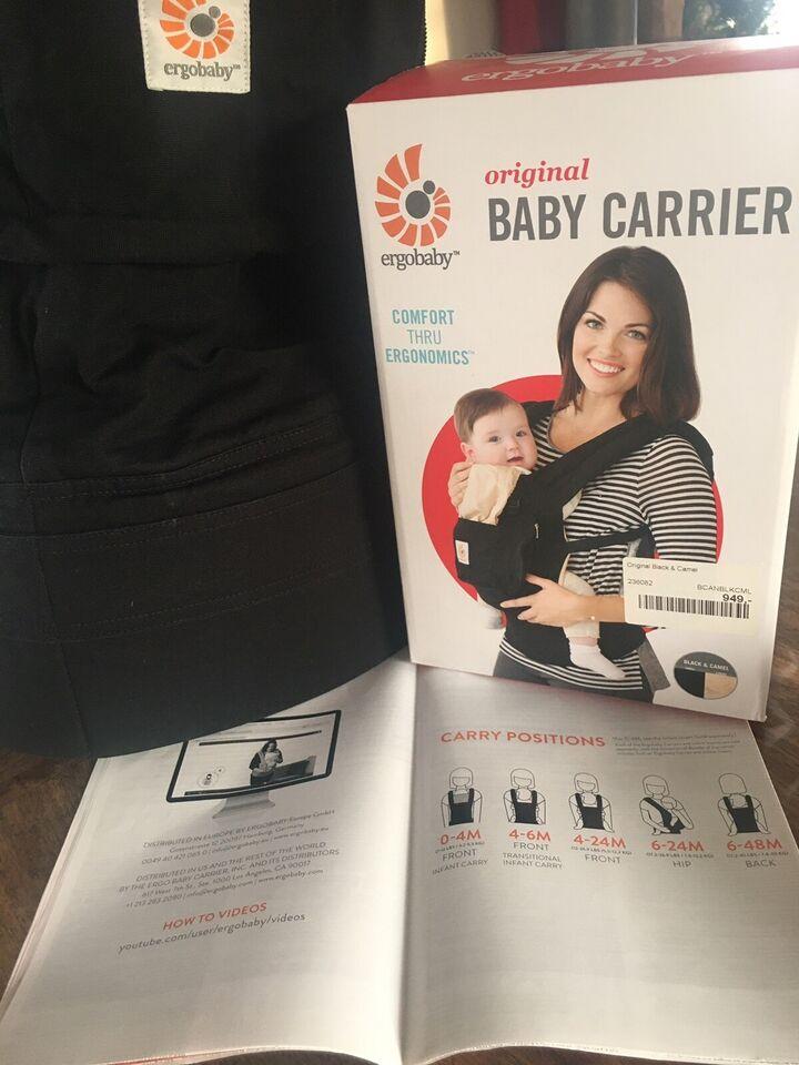 Bæresele, Original Baby Carrier, ergobaby