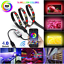 Bluetooth-APP-Control-RGB-LED-Strip-Light-USB-Powered-Car-Lights-Sync-with-music thumbnail 1
