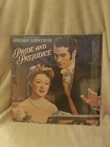 Pride-And-Prejudice-Laserdisc-LD-Greer-Garson-Laurence-Olivier-NEW