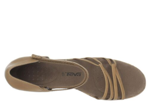 Women/'s Teva Riviera Wedge Strappy US 10 Med NIB