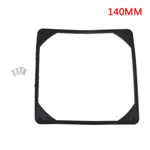 140mm-PC-case-fan-anti-vibration-gasket-silicone-shock-proof-absorption-padBLUS
