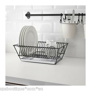Bon Image Is Loading Ikea Dish Drainer Rack Cutlery Plates Tray Drying