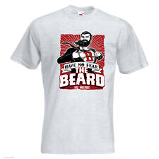 1b608850 Have No Fear, The Beard Is Here Mens PRINTED T-SHIRT Superhero Movember  Funny