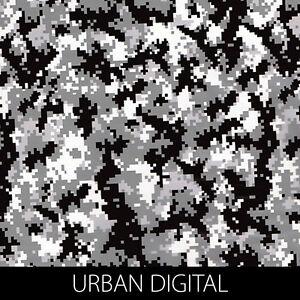 Urban Digital camo Hydrographic Film dip stick hydro hunting gun