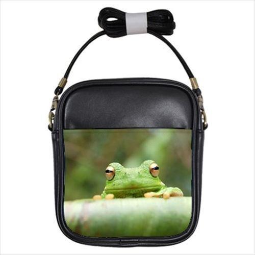 Green Frog Girls Sling Bag /& Women/'s Handbag