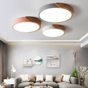 Led Deckenleuchte Ultraflach Panel Deckenlampe Indirektes Licht Fur Wohnzimmer Ebay