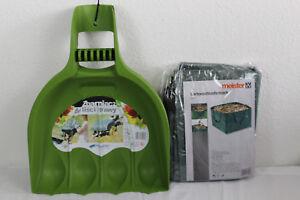 Gartenschlaufensack  245 Liter Set Laubgreifer   Laubrechen Abfallpicker