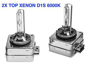 2x Neu Top D1S 6000K 35w Xenon Ersatz Birnen Peugeot 508